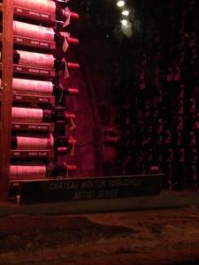 McGuire's wine cellar.